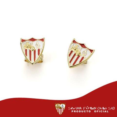 Pendientes Oro 18k Sevilla F.C