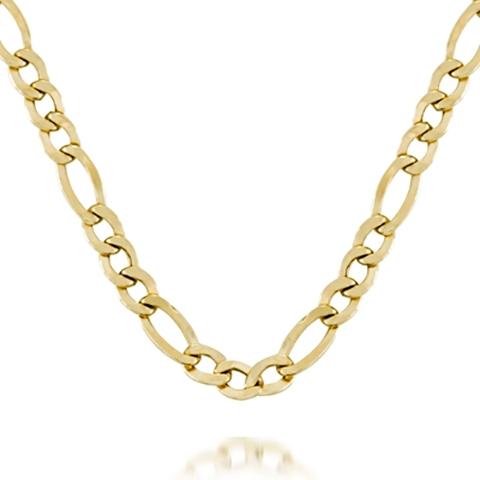 Cadena Cartier  plano de Oro 18k