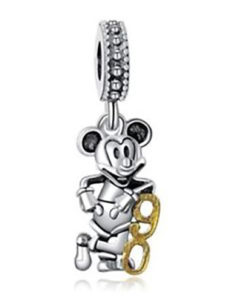 Charm Mickey 90 plata de ley