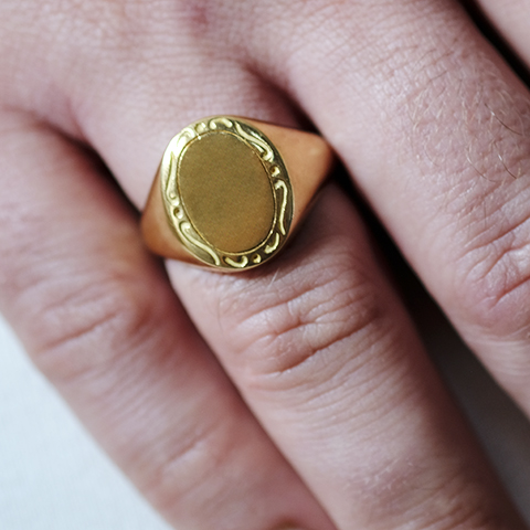 Sello Oro 18 k Vintage