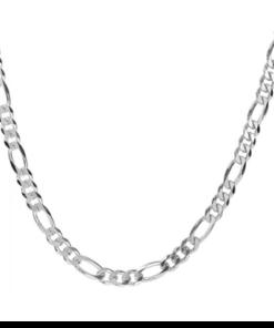 Cadena cartier plata de ley 60 cm 4mm