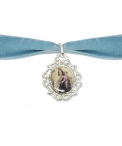 Medalla plata de ley Ramo foto